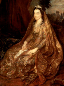 Portrait of Theresia Shirley by Anthony van Dyck